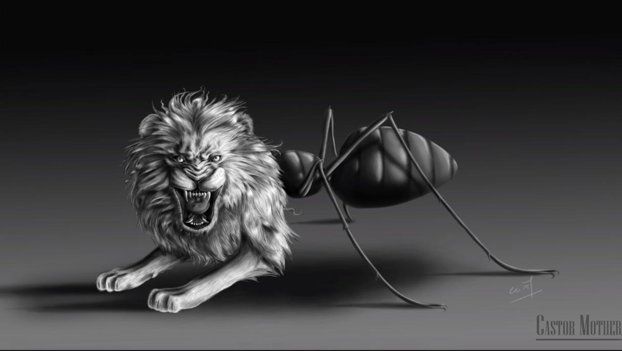 Le bestiaire fourmilion